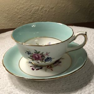 Vintage Cup and Saucer,  Hammersley & Co. England